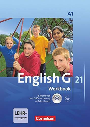 English G 21 - Ausgabe A / Band 1: 5. Schuljahr - Workbook mit Audio-Materialien