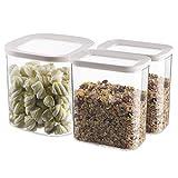 Box Aufbewahrungsbox FR KChe VorratsbehLter FR Lebensmittel Transparente Und Gute Versiegelung - GroEs FassungsvermGen - VorratsbehLter FR Getreide/Keks/Kunststoff +