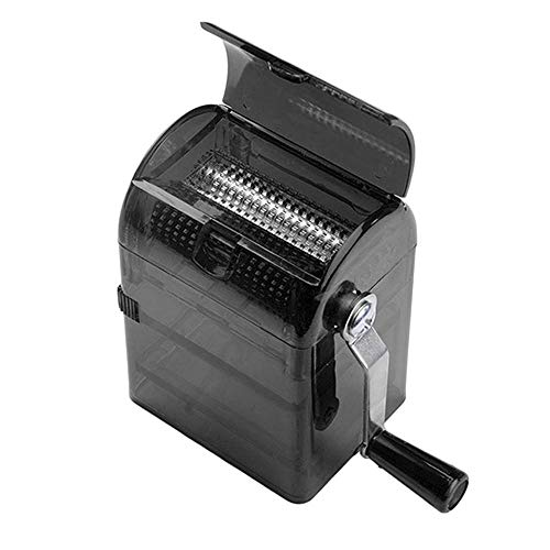 Root of all evil Entwerfen Sie einfache handgekurbelte Zigarette Maschine langlebige Gewürzzerkleinerungsmaschine Handbuch
