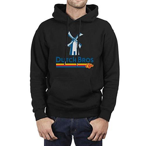 Dutch-Bros-Coffee-Logo- Sweatshirts for Men Comfort Shirt Sweatshirt Long Sleeve Hoodie