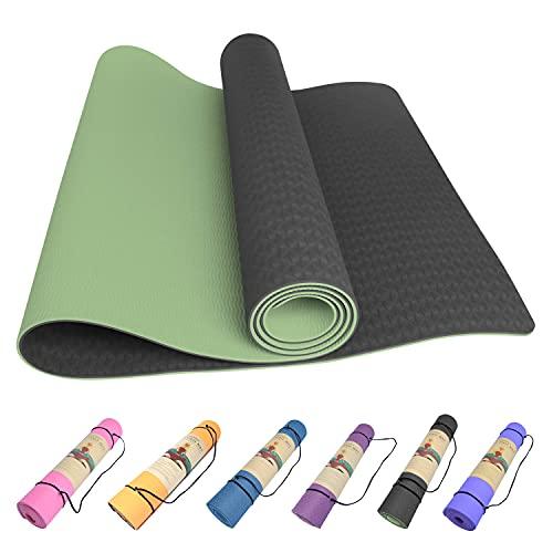 Yoga Mat Non Slip for Women Men Thick Exercise Mat for Yoga...