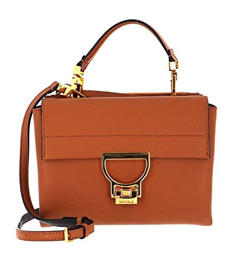 COCCINELLE Arlettis Handbag Grainy Leather Caramel