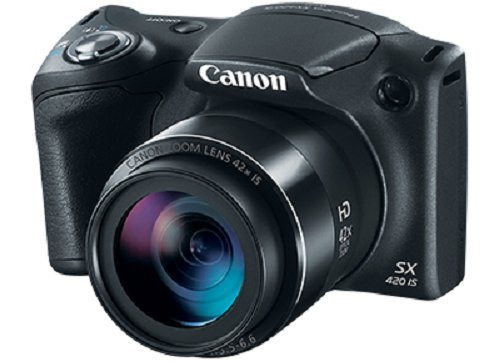Best Price! Canon PowerShot SX420 Digital Camera w/ 42x Optical Zoom - Wi-Fi & NFC Enabled (Black)
