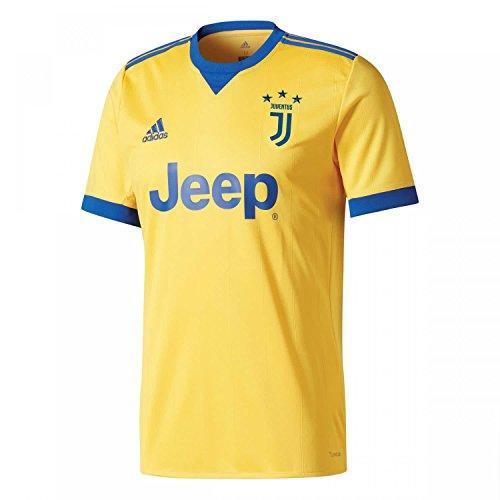 adidas JUVE A JSY Camiseta 2ª Equipación Juventus 2017-2018, Hombre, Dorado (dorfue/Reauni), S