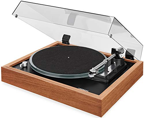 Best Review Of THORENS TD 148A Fully-Automatic 3-Speed Turntable with Cartridge (Walnut)