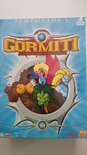 Gormiti 4 DVDs Temporada 1 + 2 puzzles + juego de cartas...