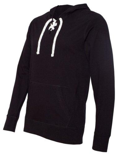 Sport Lace Jersey Hood (JA8231) Black, L