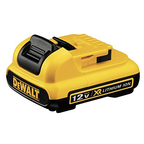 DEWALT DCB127 12V MAX Lithium Ion Battery-Pack,Yellow/Black,medium