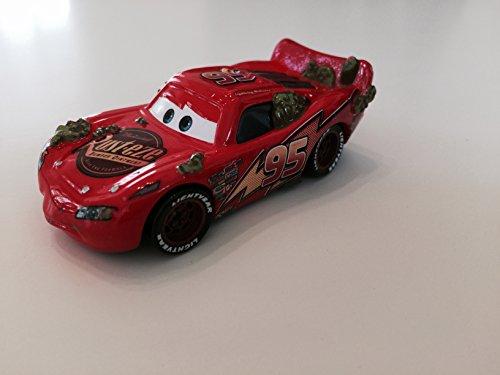 Disney Pixar Cars 2 Cactus Lightning McQueen # 95 - Voiture Miniature Echelle 1:55