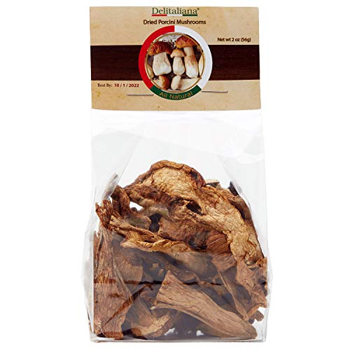 Dried Porcini Mushrooms 2 Ounce