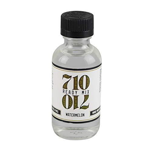 710 Ready Mix - USP Grade PG Propylene Glycol and a Natural Emulsifier Flavoring Solution - Made and Bottled in the USA - Stable and PEG Free Liquidizer - (Watermelon, 60mL)
