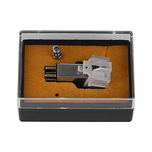 Yuyanshop Cartucho magnético con aguja de vinilo LP, función de grabación exacta, cartucho de fonógrafo de repuesto para tocadiscos