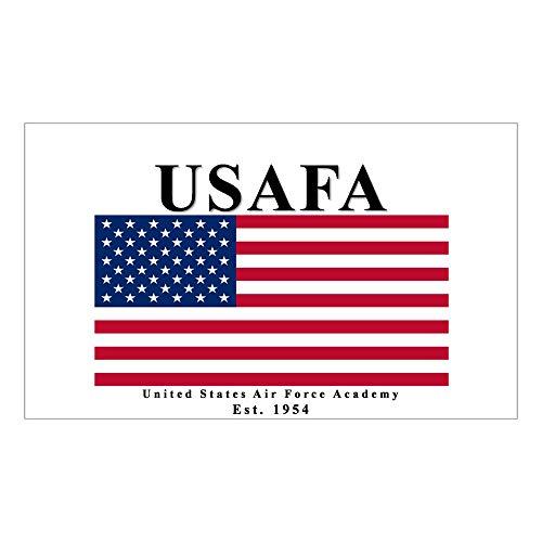 CafePress USAFA Ensign Rectangle Sticker Rectangle Bumper Sticker Car Decal