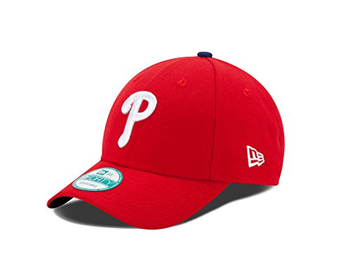 New Era Herren 9Forty Philadelphia Phillies Kappe, Rot, OSFA