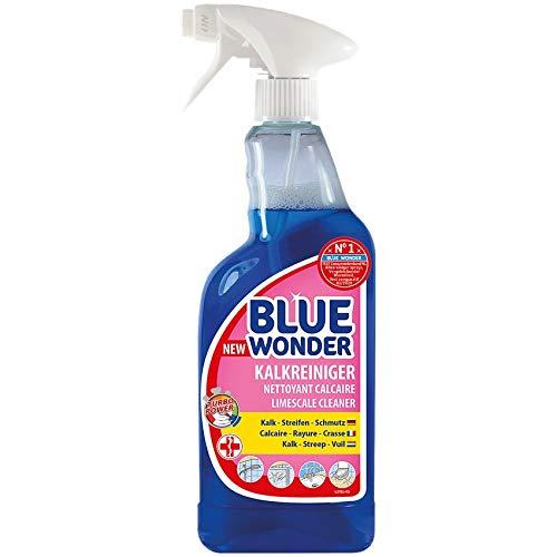 Blue Wonder Duschkabinen-Reiniger Anti Kalk Badreiniger Reiniger 750ml