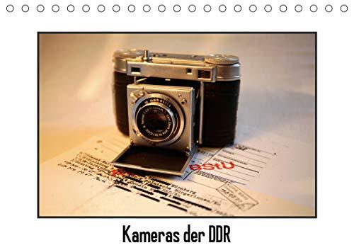 Kameras der DDR (Tischkalender 2021 DIN A5 quer)