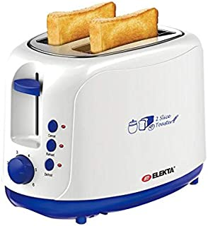 Elekta 2 Slice Toaster with Cool Touch - ET-252MKI Multi Color