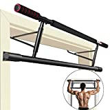 ROMIX Barre de Tractions, 130 kg Supportable Multifonctions Pull Up Bar avec...