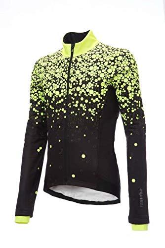 ZERORH Lab Jacket Noire ET Jaune Fluo Veste Thermique vélo