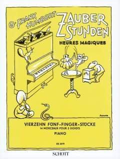 ZAUBERSTUNDEN - arrangiert für Klavier [Noten / Sheetmusic] Komponist: HUMBERT GEORGES FRANK