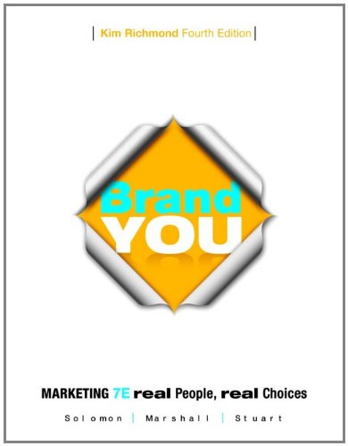 Brand You for Marketing: Real People Real Choices