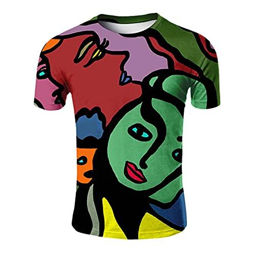 SSBZYES Camisetas Para Hombre Camisetas De Gran Tamaño Para Hombre Camisetas Estampadas Con Cuello Redondo Estilo De Moda De Verano Camisetas De Manga Corta Camisetas Casual De Manga Corta Para Hombre