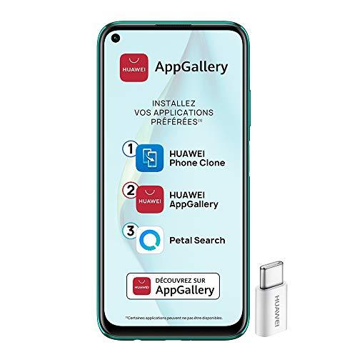 professionnel comparateur Smartphone Huawei P40 Lite 4G débloqué (6,4 pouces – 6/128 Go – double Nano SIM EMUI 10.1 et… choix