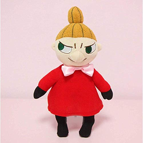 N-R Moomin Little My Plush Toy Plush Toy Stuffed Toy Animal Dolls Kids Gift Christmas A Birthday Present for Your Child 25Cm