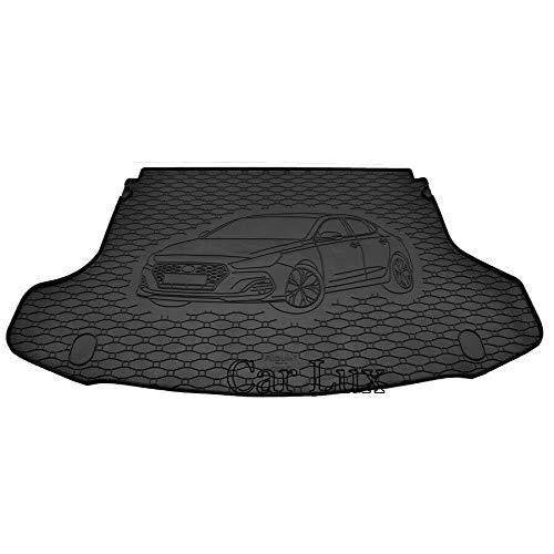 Car Lux AR06083 - Alfombra protector de goma para maletero para el Hyundai i30 Fastback desde 2018-