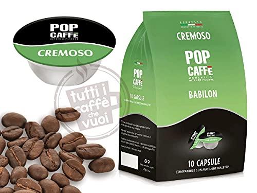 96 CAPSULE COMPATIBILI BIALETTI POP CAFFE' MISCELA CREMOSO