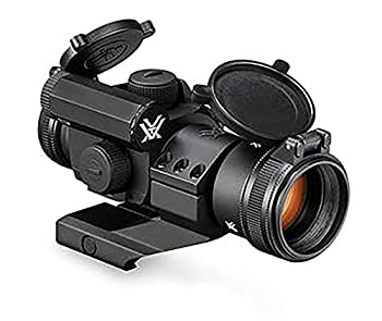 Vortex Optics Strikefire II Red Dot Sight - 4 MOA Red/Green Dot,Black