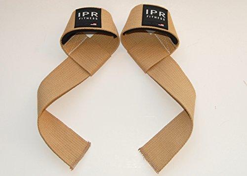 IPR Fitness Lifting Straps - Men's/Tan