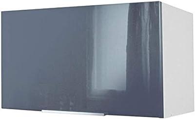 Berlenus CP8HA - Mueble Alto de Cocina (2 Puertas, 80 cm), Color Berenjena Brillante: Amazon.es: Hogar