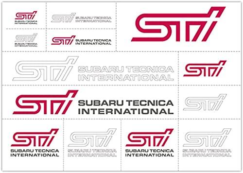 【スバル純正】STI【転写ステッカー】STSG14100200