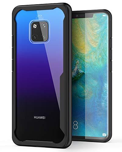 """ORETECH Cover Huawei Mate 20 PRO, Ultra-Hybrid Trasparente Custodia per Huawei Mate 20 PRO Custodia Silicone Soft TPU + Anti-Scratch Cover Case Ultra Sottile per Huawei Mate 20 PRO - 6.3""""-Black"""