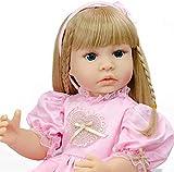 dh-15 Reborn 22 Pouces 55 cm Full Body Réaliste Reborn Babies Silicone Poupées Silicone Vinyle Fille Poupée Reborn Bébé Toddler Doll