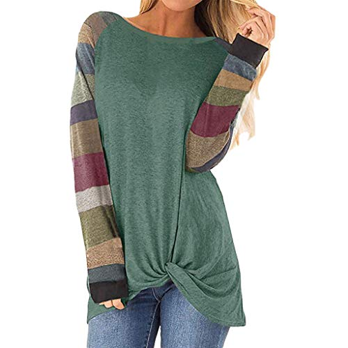 Women's Cold Shoulder T-Shirt Long Sleeve Blouses Tees Casual Front Knot Side Twist Tunic Tops Pullover