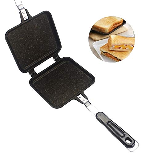 Double-sided Frying Pan, Non-stick Foldable Grill Frying Pan