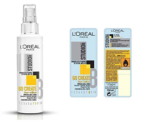 L'Oréal Paris Studio Line Go Create Spray Coiffant Fixation Ultra Forte 150 ml