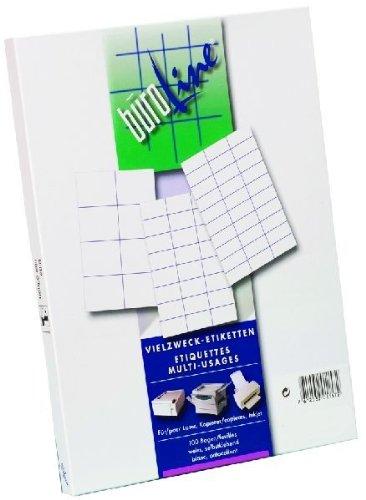 Büroring BüroLine Etiketten A4/100 Blatt 105x48mm, 1200 Etiketten , 500030