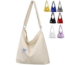 ZhengYue Sac Toile Femme Sac en toile Cabas sac Femmes Sac Fourre Tout Femme Tote Bag Sac Tendance Sac Shopping Femme