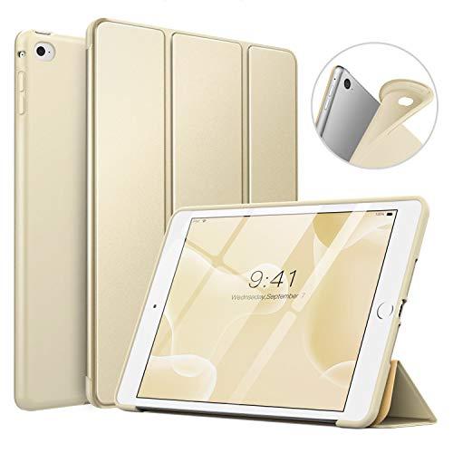 MoKo Funda Compatible con iPad Mini 4, Superior Delgada Protectora Case con Tapa Trasera Esmerilada Translúcida Compatible...