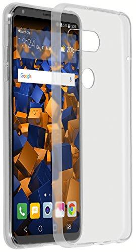 mumbi Hülle kompatibel mit LG V30 ThinQ Handy Hülle Handyhülle dünn, transparent