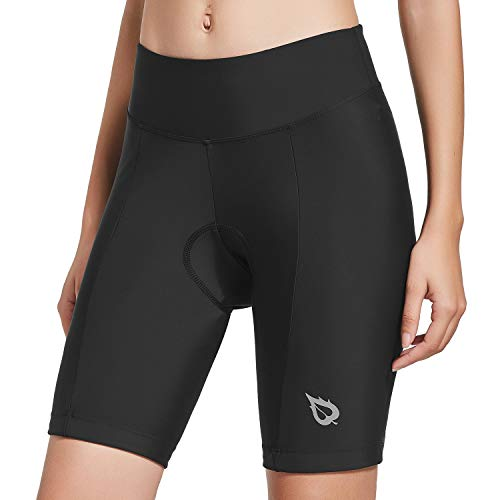 BALEAF Womens Cycling Bike Shorts 3D Gel Padded Bicycle Spin Black UPF 50+ Size XL