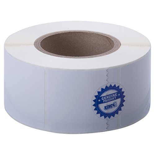 """Kenco Premium Inkjet 2.5"""" X 2.5"""" Rectangle High Gloss Paper Roll-Fed Inkjet Labels. Compatible with Primera Color Label Printers and Many Other Printer Brands. Supplied 1000 Labels on a 3? core."""