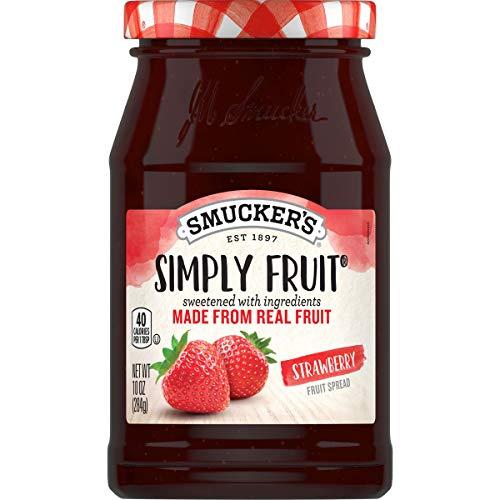 Smucker's Simply Fruit Strawberry Spreadable Fruit, 10 Ounces