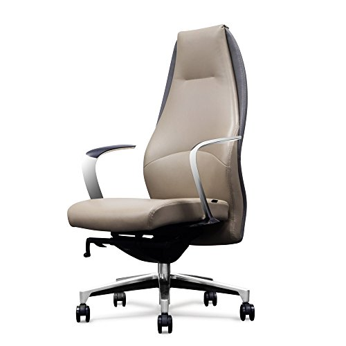 Wrigley Genuine Leather High Back Executive Chair