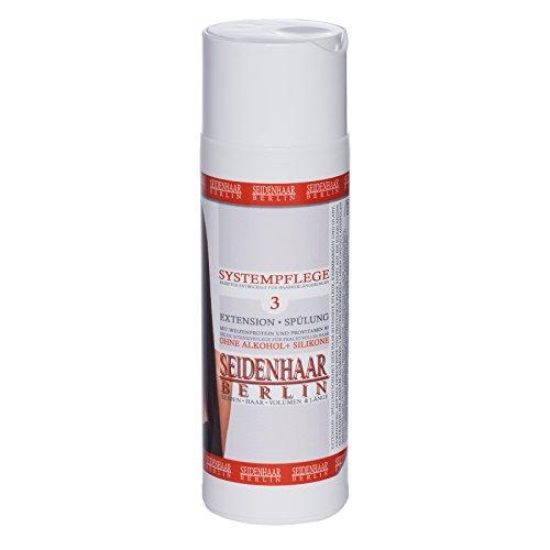 * Seidenhaar- Extension Spülung * für Extensions & Langhaar * sensitive, silikonfrei: 200 ml