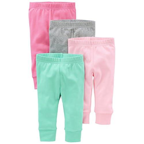 Simple Joys by Carter's - Pantaloni - Bebè femminuccia rosa Bright Pink/Gray/Light Pink/Mint 0 - 3 Months