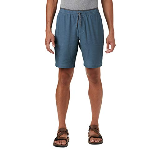 Columbia Men's Twisted Creek Short, Mountain Heather, 3X x 9
